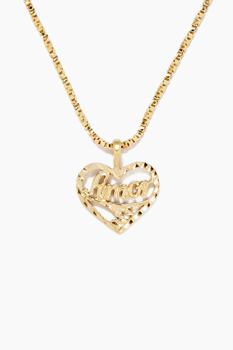 The Amor Necklace - Gold