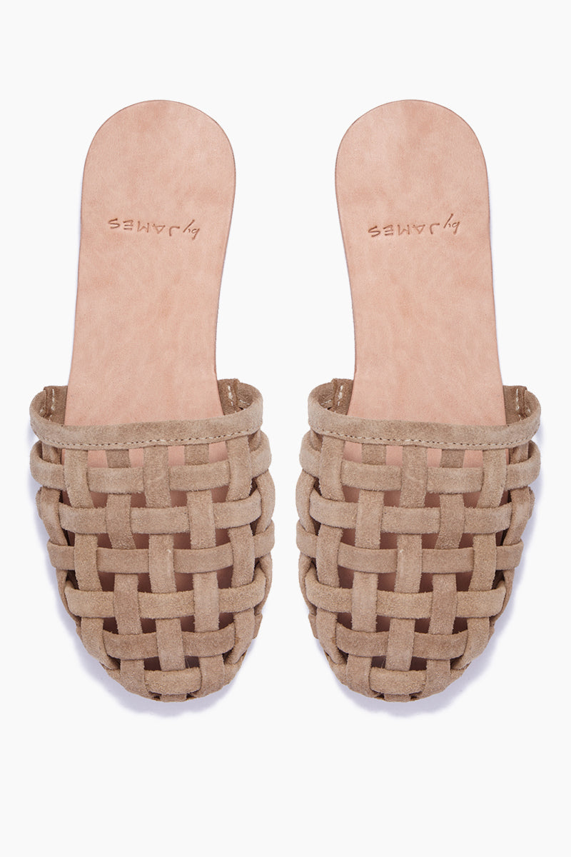 Cage Strappy Sandals - Nude