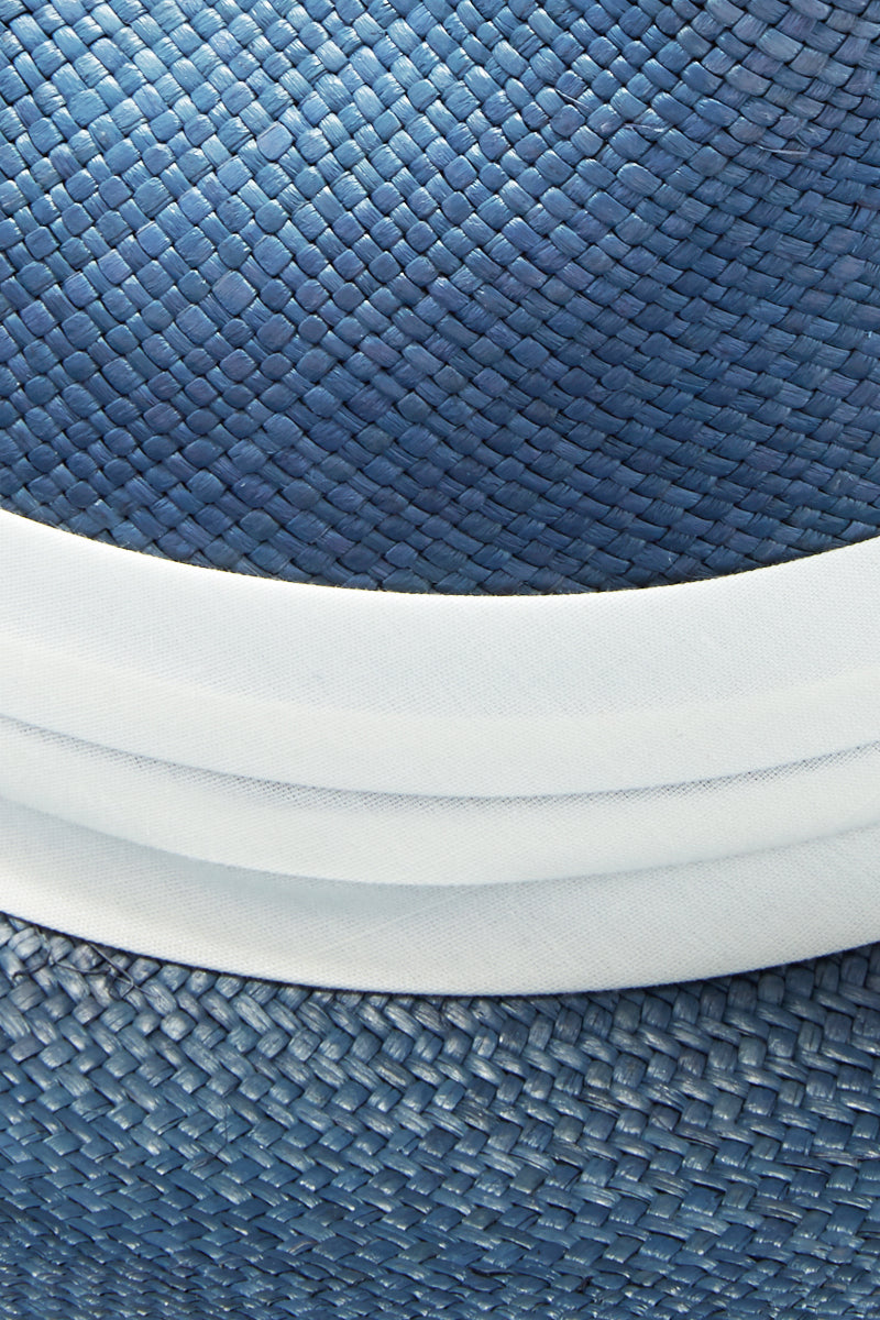 dbd64d29d2c0c ... KAYU Coiba Straw Panama Hat - Blue - undefined undefined