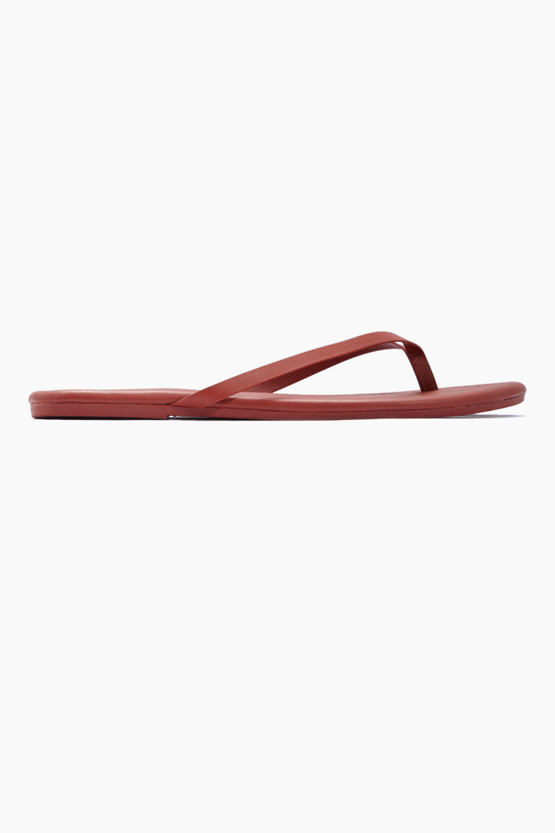 Solids Sandals - No. 36 Red