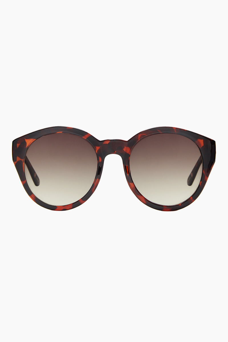 Paparazzi Sunglasses - Brown Tortoise Print