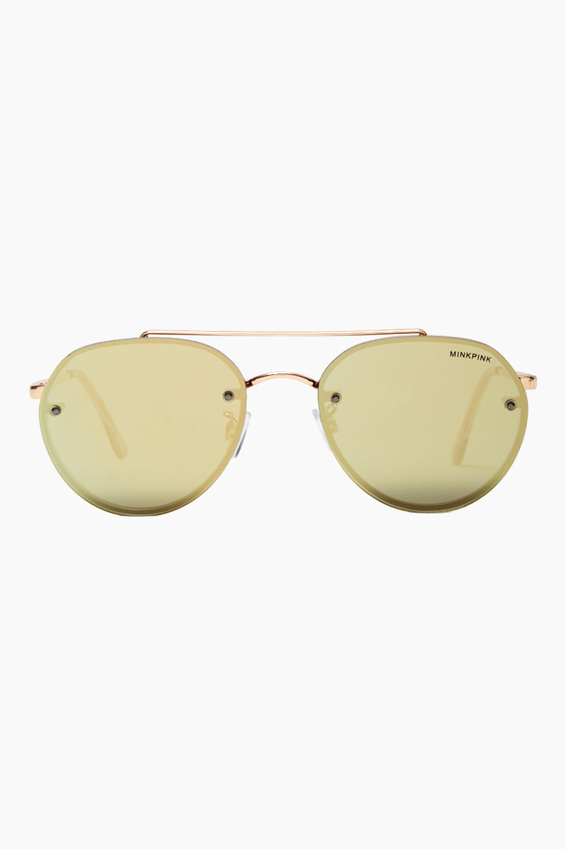 Retrograde Sunglasses - Rose Gold