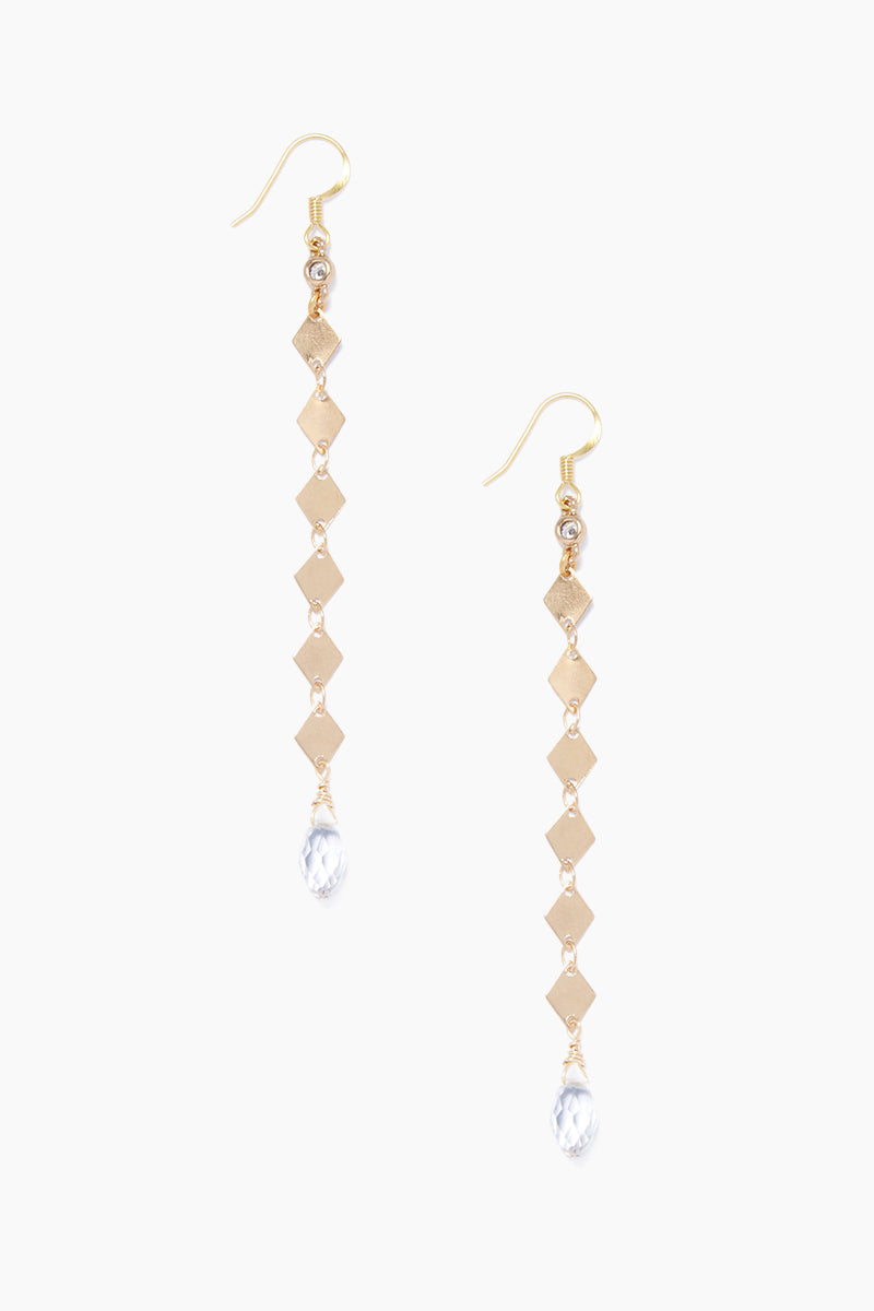 Fay Drop Earrings - Gold
