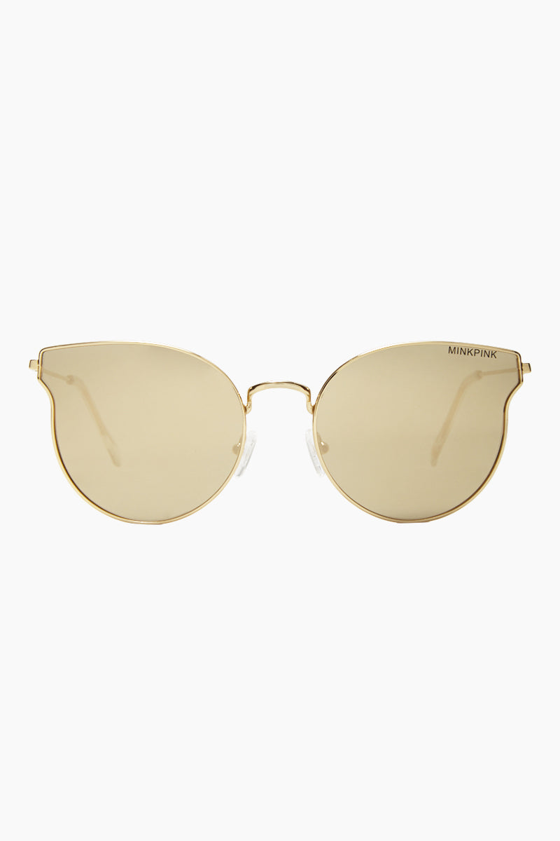 Seamless Sunglasses - Gold