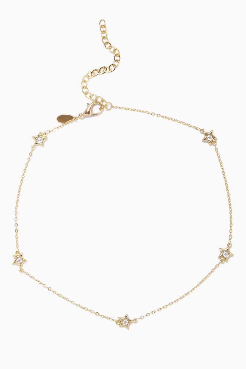Pow! Necklace - Gold