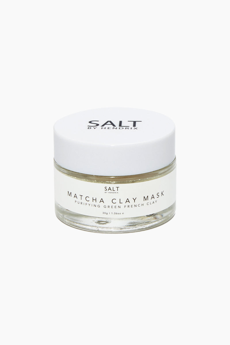 French Clay Exfoliating Face Mask - Matcha