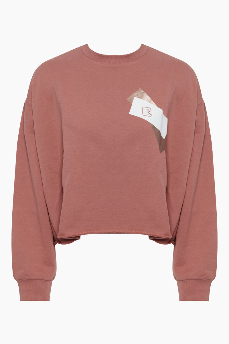 Vincent Pullover Top - Dusty Pink