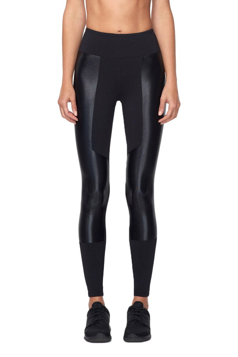 Approximate High Waist Leggings - Black