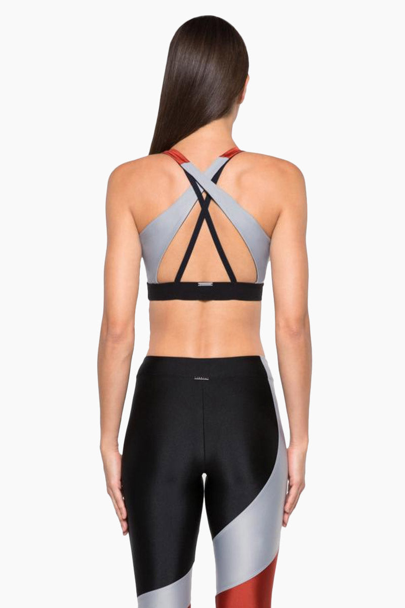 a8028bef4c ... KORAL Endpoint Sprint Sports Bra - Rouge Silver - undefined undefined