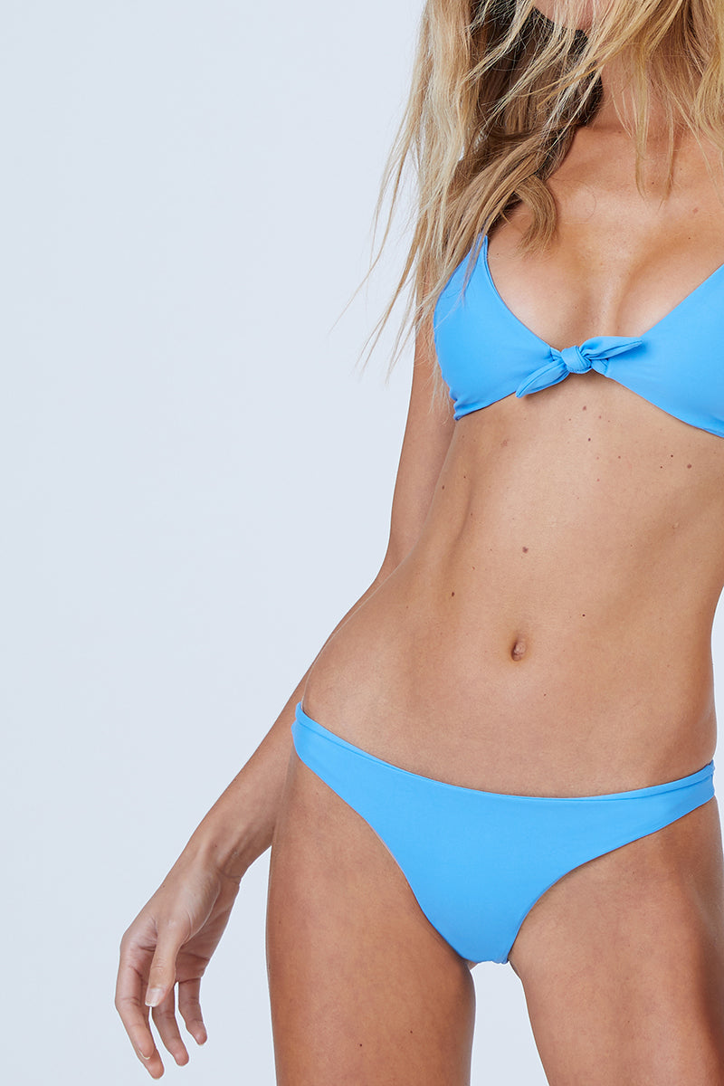 4891e57925 ... AILA BLUE Cathedral Front Tie Bikini Top - Patriot Blue - undefined  undefined