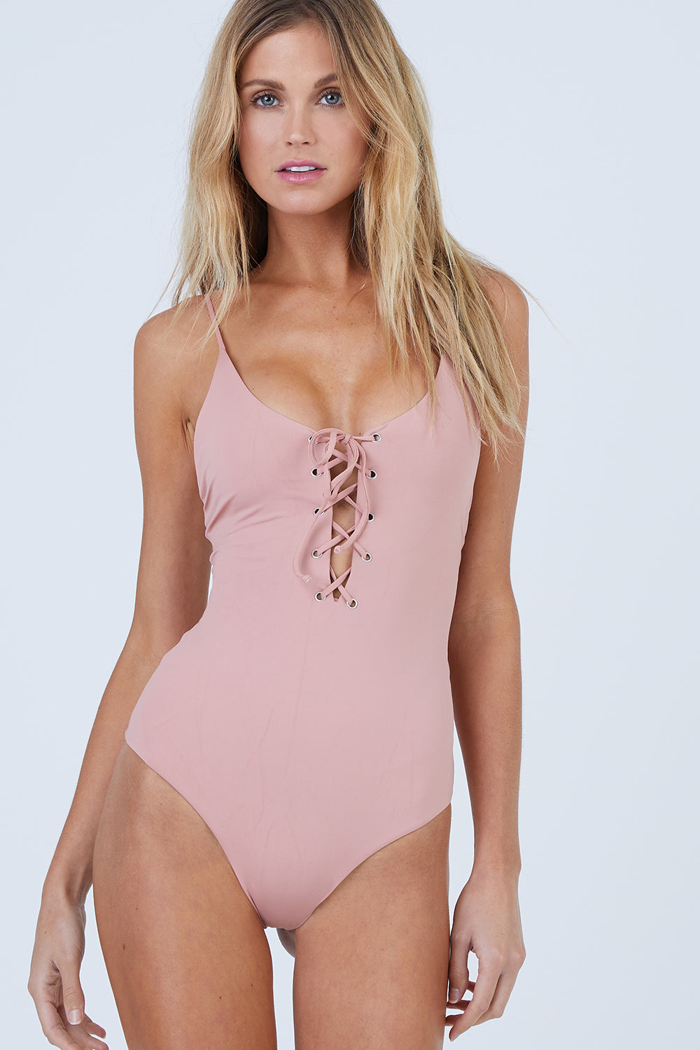 Monahan One Piece Swimsuit - Rose Dawn