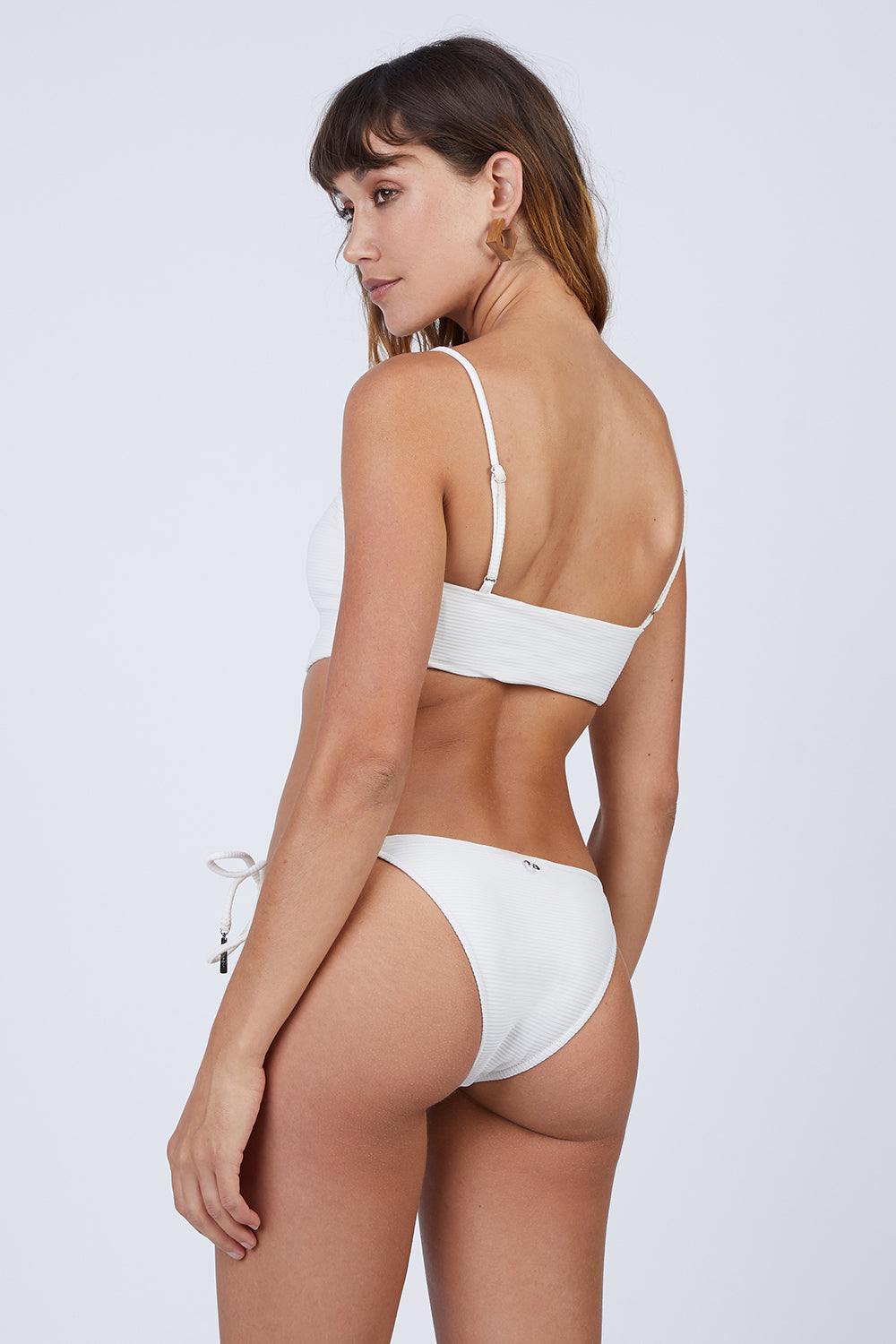 3a5ac5534a65 ... ROSA CHA Canel Front Tie Bikini Top - Ivory - undefined undefined
