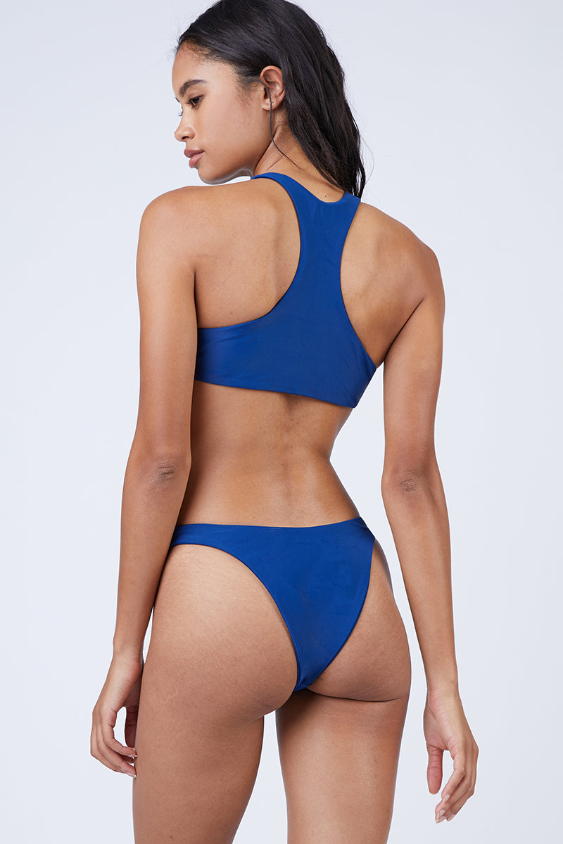 Daredevil High Cut Bikini Bottom - Navy Blue