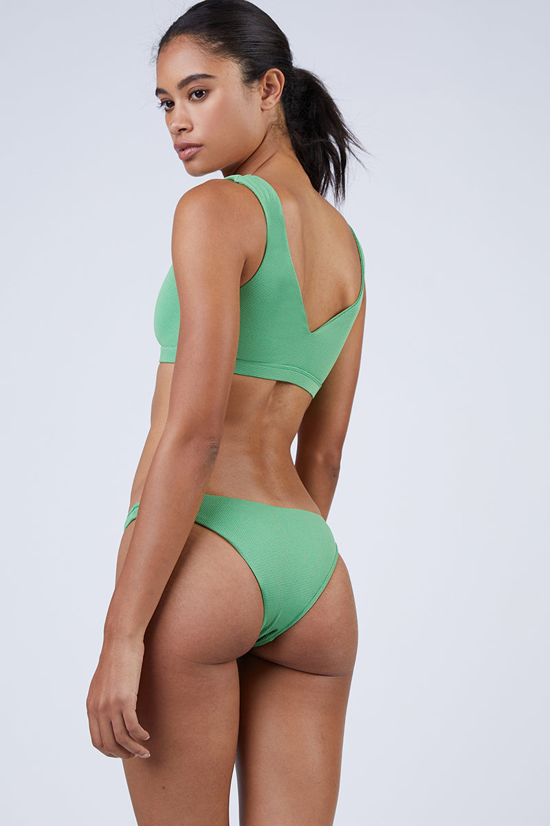 Blake Hipster Cheeky Bikini Bottom - Spearmint Green