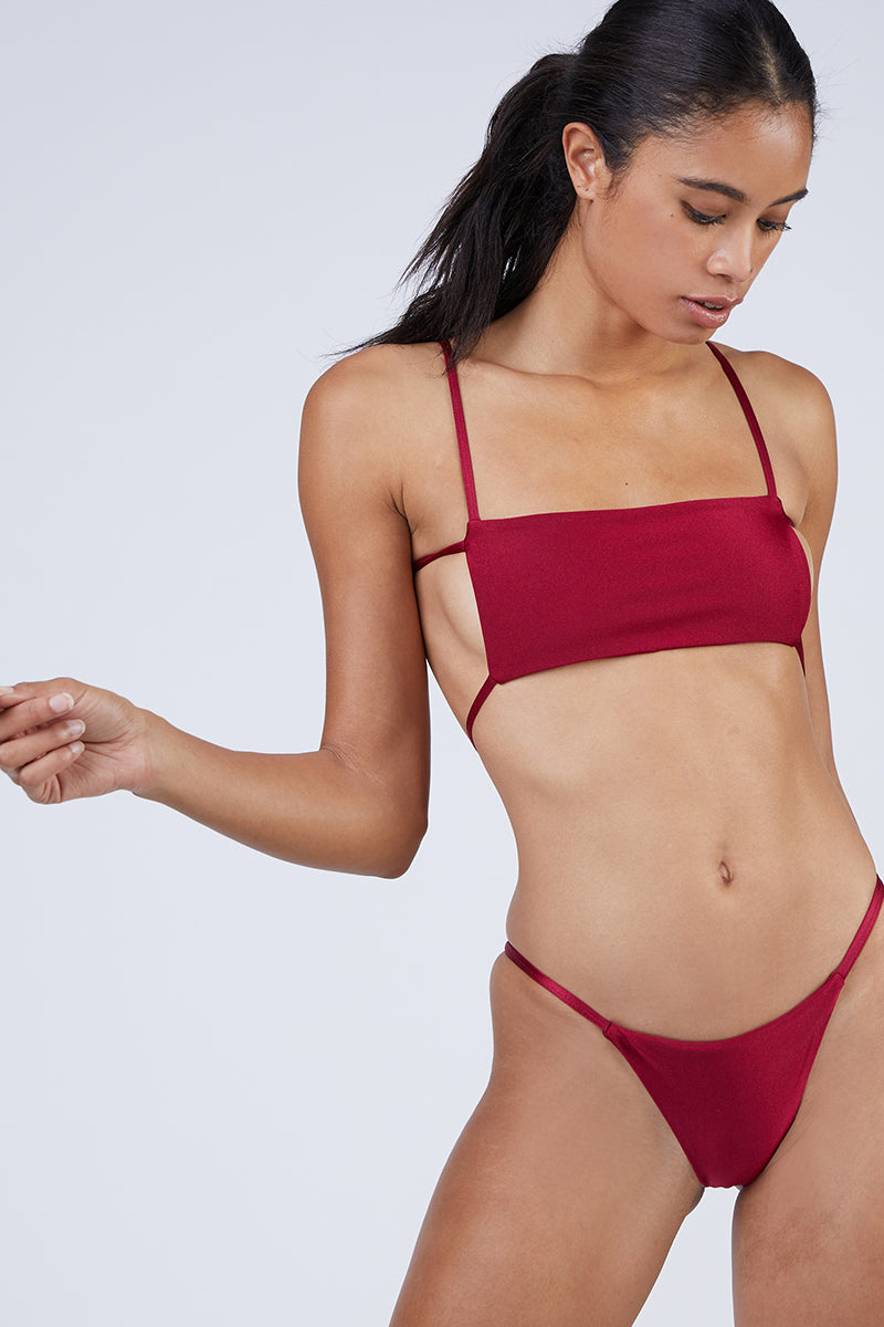 a4eacb4adee95 WILDASTER Jenna Square Side Boob Bikini Top - Shanghai - undefined  undefined ...