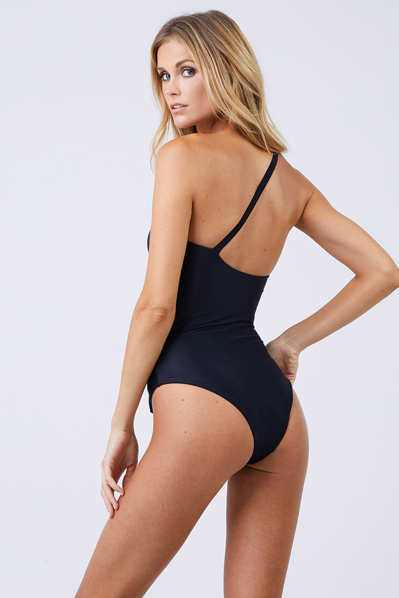 469e221bd6b ... JADE SWIM Collision Cut Out One Piece Swimsuit - Black - undefined  undefined