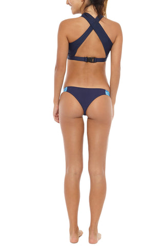 ABYSSE Bell Active Top Bikini Top | Navy| abysse bell active top