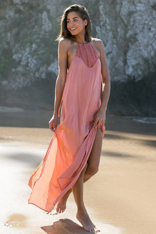 ACACIA Moscow Dress Cover Up | Papaya|