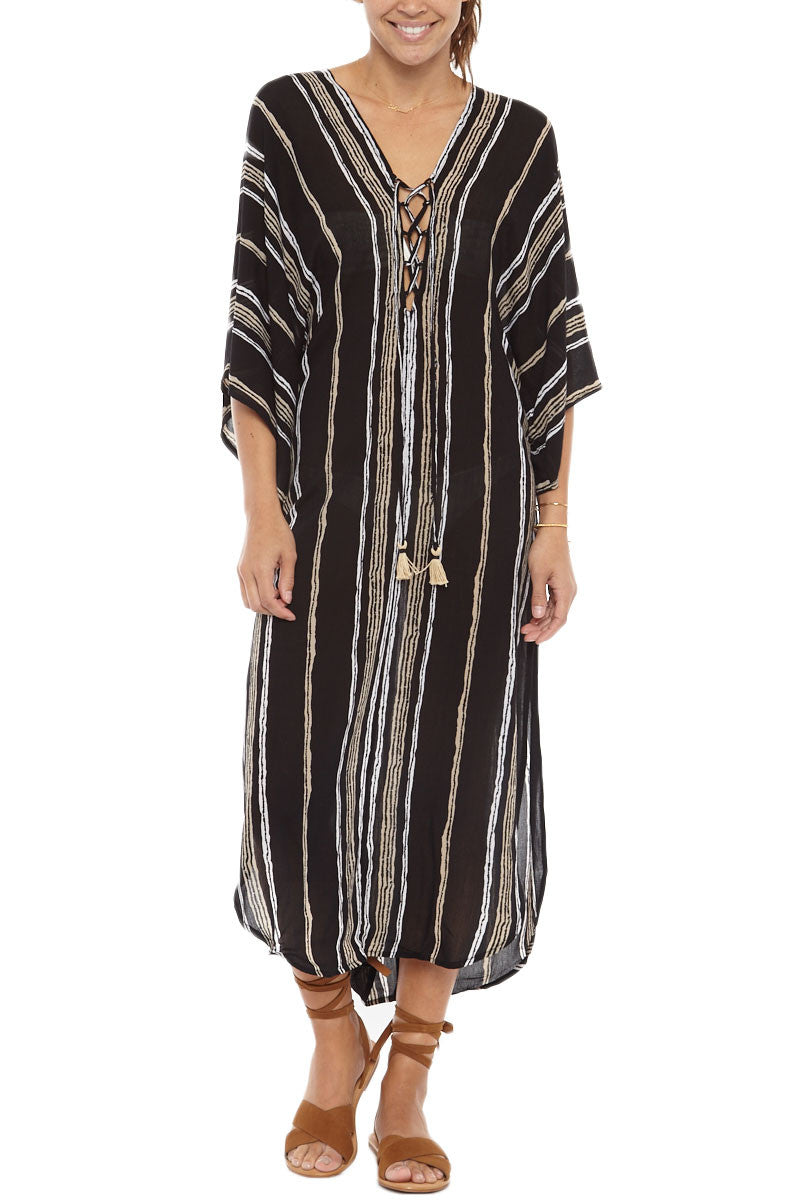 Drift Delray Kaftan Cover Up Dress