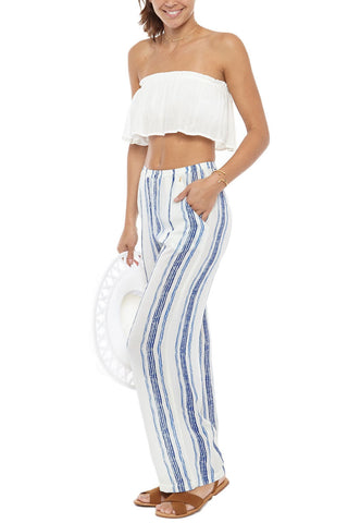 BEACH GOLD Drift Pant Cover Up | Capri| Beach Gold Drift Pant