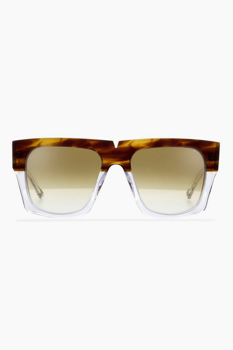 2f8cf65dd9c PARED Bigger   Better Sunglasses - Havana Clear Brown Lenses - undefined  undefined ...