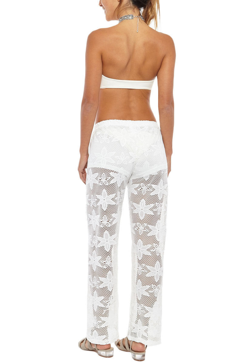 Knit Pants - White