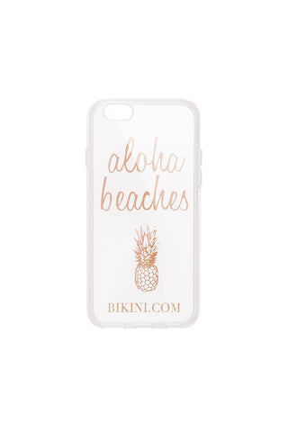 BIKINI.COM Aloha Beaches Phone Case Accessories | Translucent|