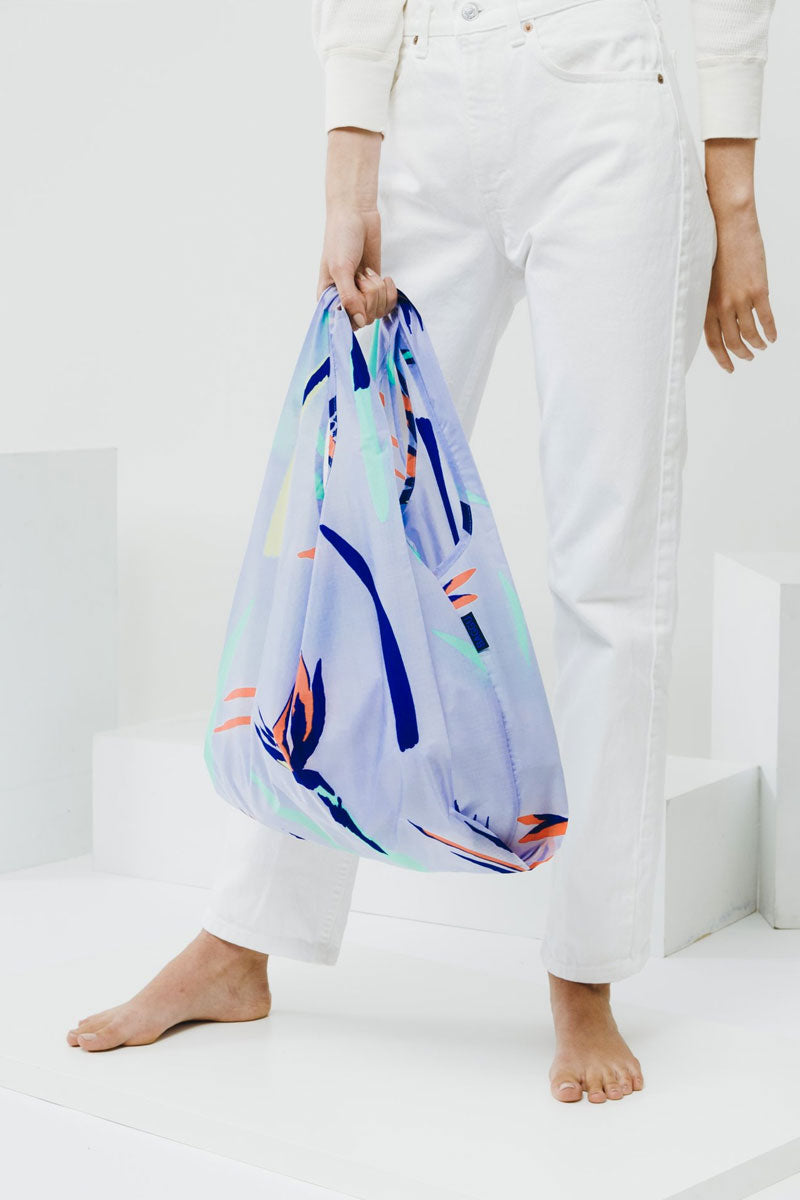 Bird Of Paradise Market Bag - Blue