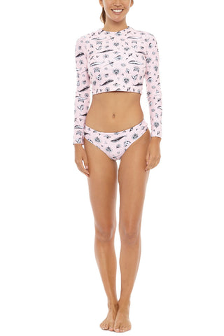 BLACK BOX SWIM Cara Boyshort Bikini Bottom | Wild Thing| Black Box Swim Cara Boyshort