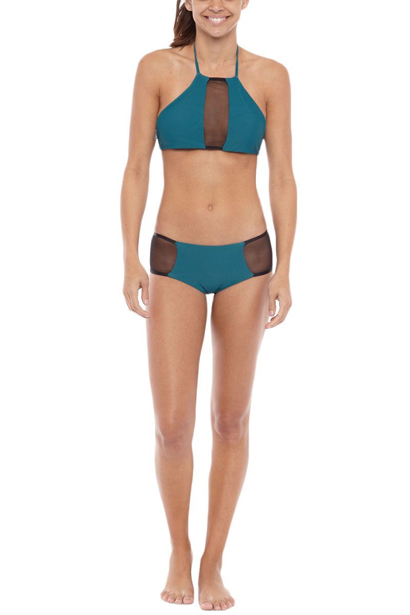BLACK BOX SWIM Nicki Mesh Bottom Bikini Bottom | dive| Black Box Swim Nicki Mesh Bikini Bottom