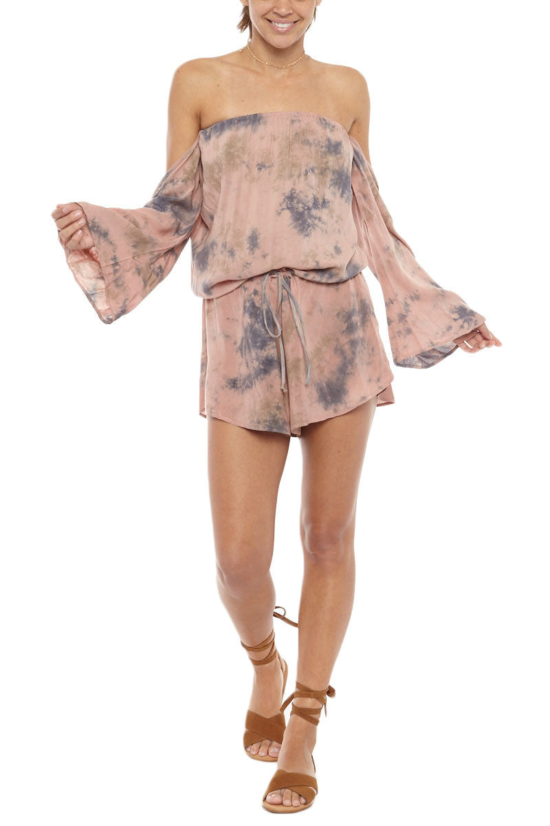 BLUE LIFE Lifes A Beach Romper Cover Up | Rebel| Blue Life Lifes A Beach romper