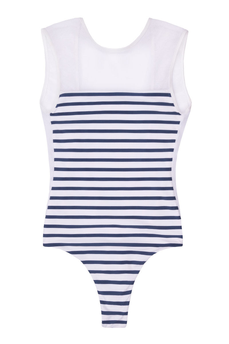 Portofino One Piece Swimsuit - Stripes