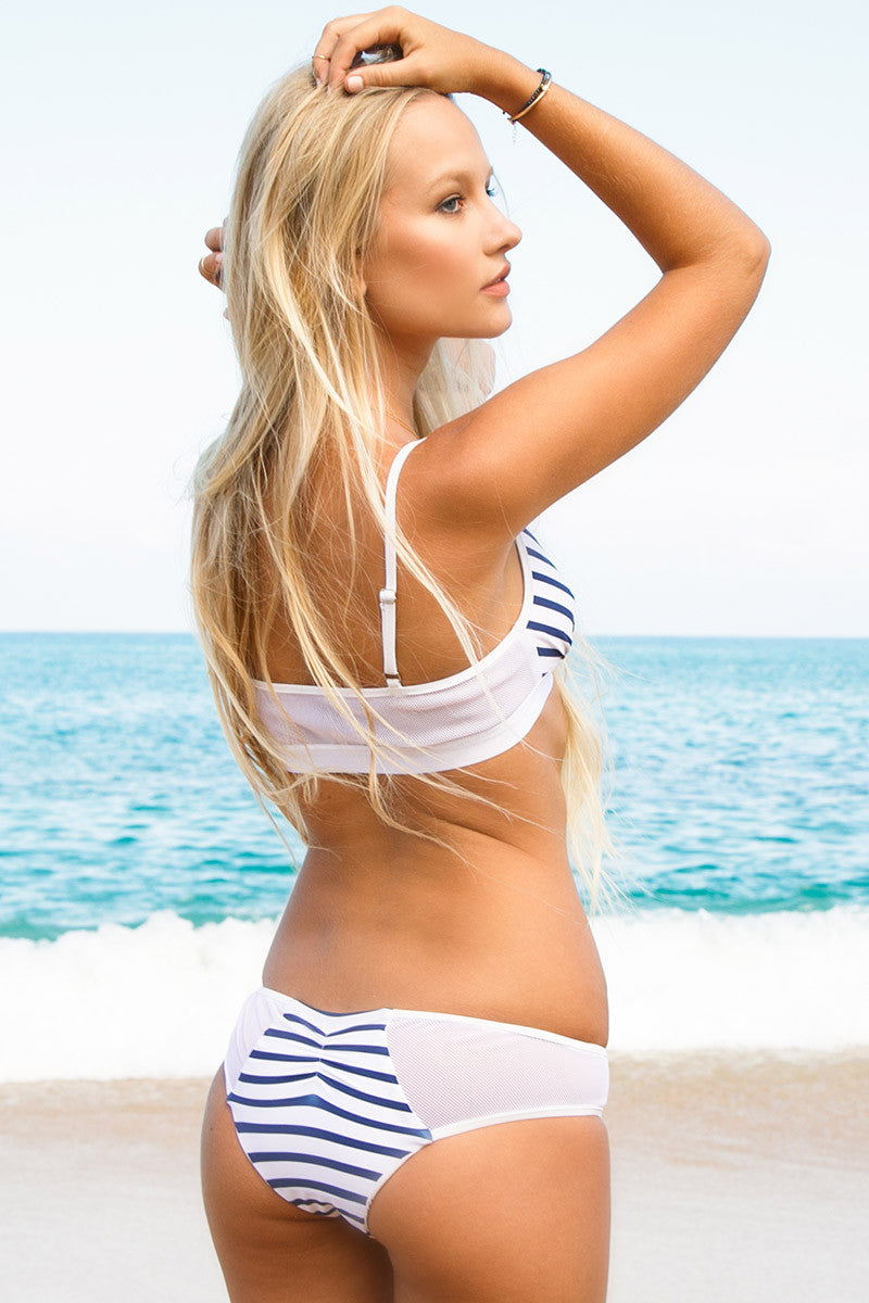 BLUE LIFE Portofino Cheeky Bottom Bikini Bottom | Stripes|Lili