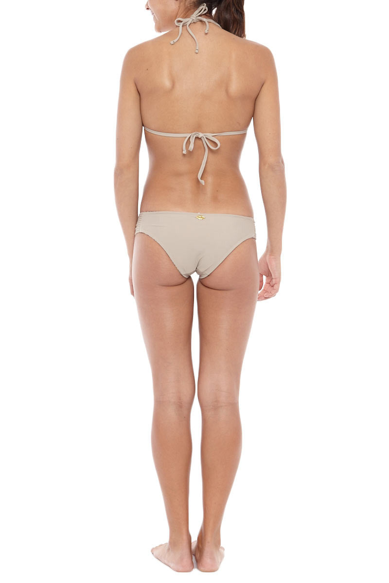 BOCACHICA Reversible Bondi Beach Bottom Bikini Bottom | Cream| Bocachica Reversible Bondi Beach Bikini Bottom