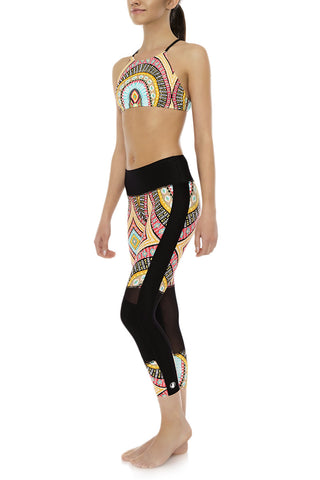 BODY GLOVE Cobra Pant Bikini Bottom | Culture Print| Body Glove Cobra Pant