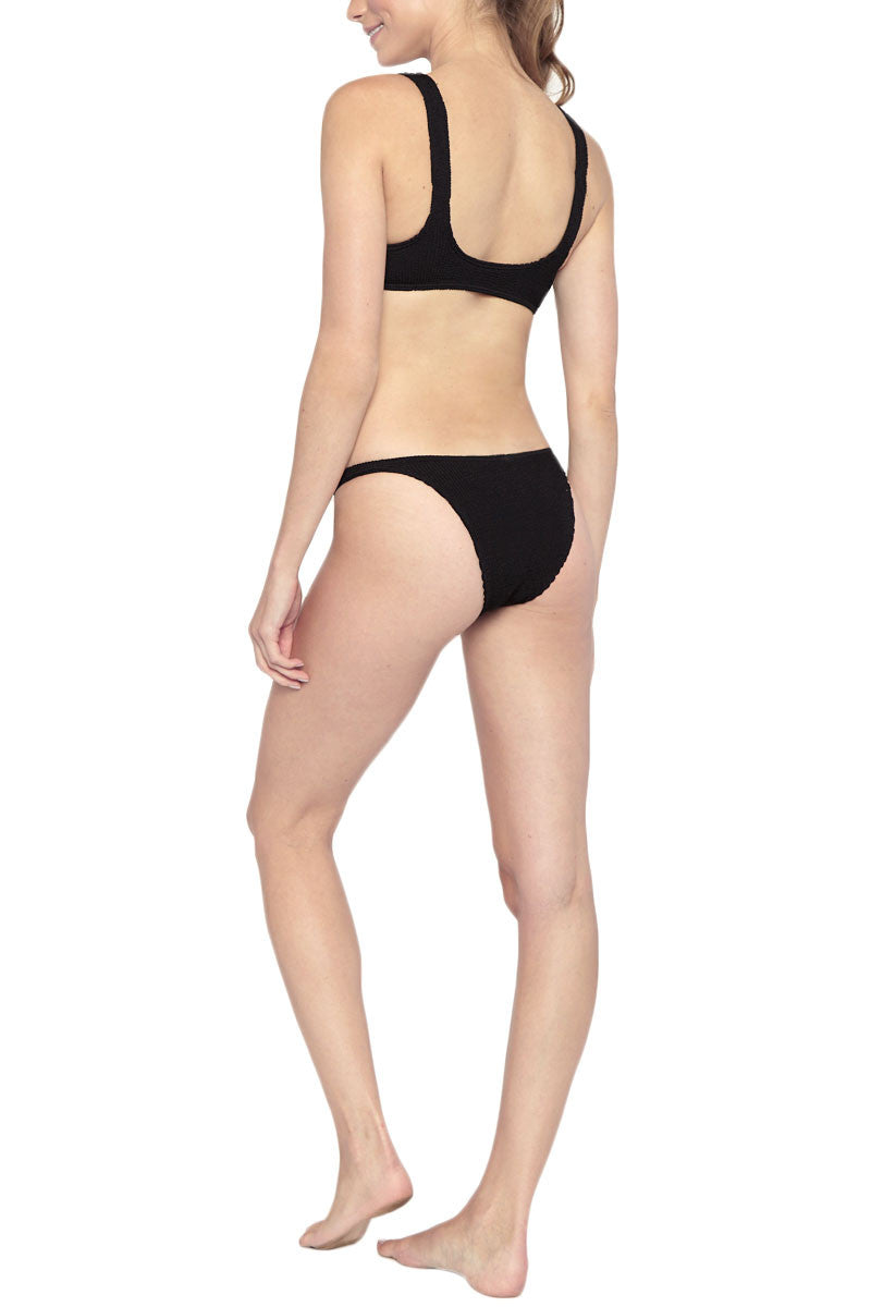 BOND-EYE The Malibu Top Bikini Top | Black| Bond-Eye The Malibu Bikini Top