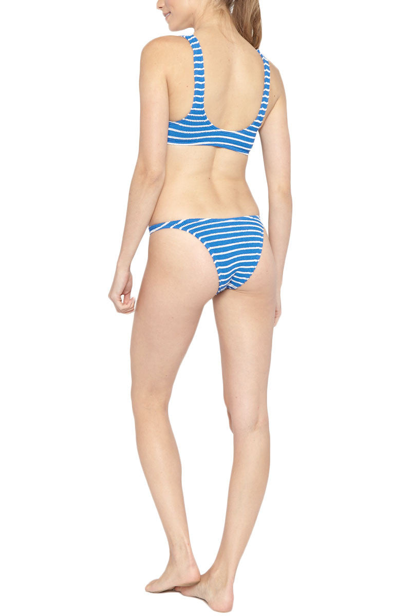 BOND-EYE The Malibu Top Bikini Top | Cobalt/White| Bond-Eye The Malibu Bikini Top