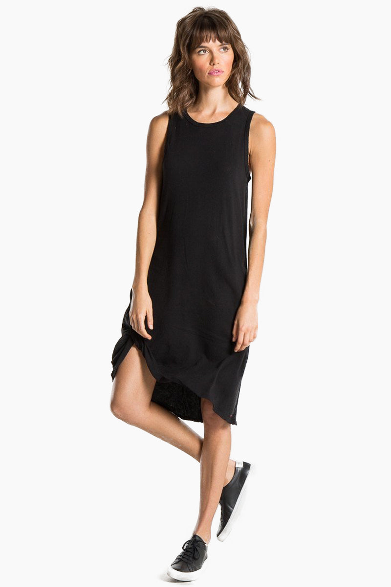 Boo Tank Midi Dress - Black Cat