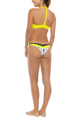 BOYS AND ARROWS Margot The Mess Top Bikini Top | Sunshine| Boys And Arrows Margot The Mess Bikini Top