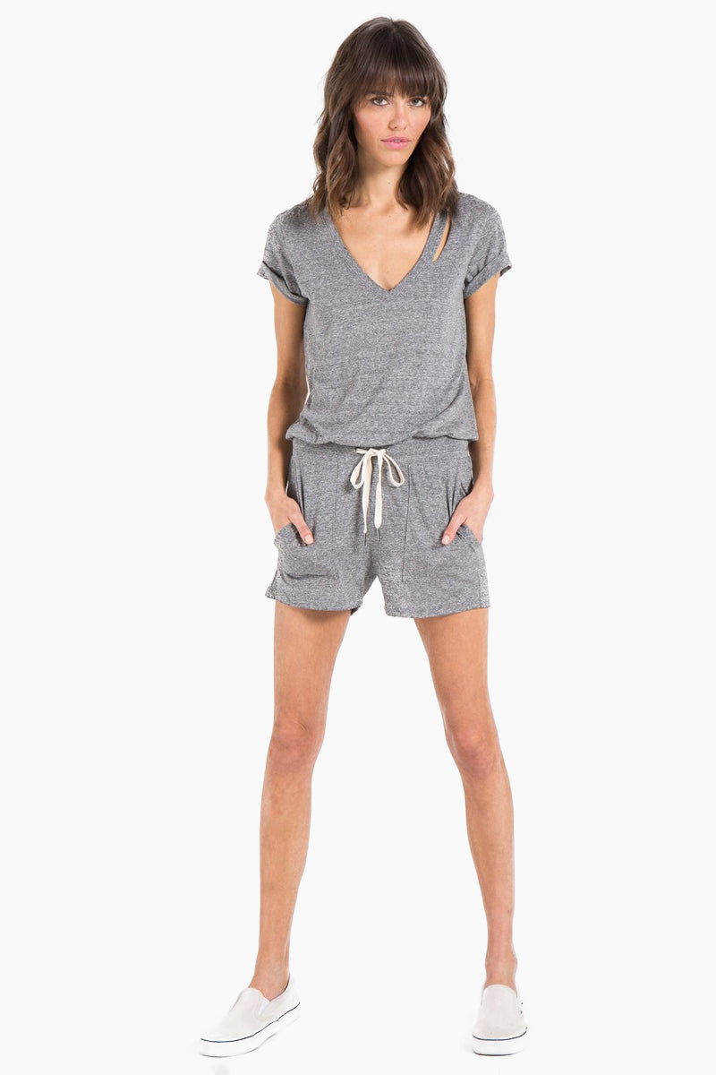 Breeze Romper - Heather Grey