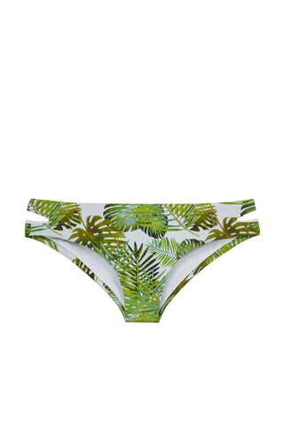CAMILA SWIMWEAR Saint Barth Bottom Bikini Bottom | Palm Print| Camila Swimwear Saint Barth Bikini Bottom