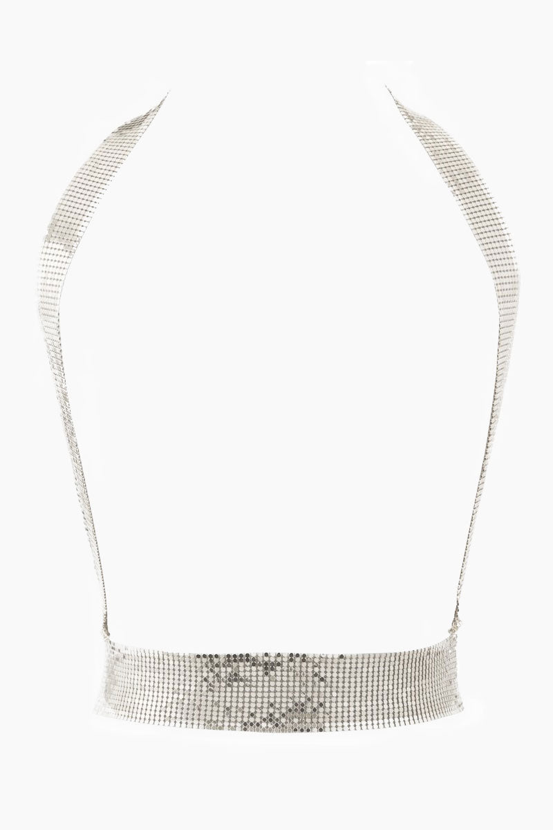 Chainmaille Harness Bodychain - Silver