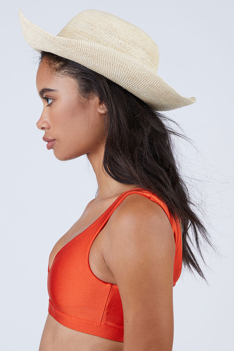 Cristobal Straw Sun Hat - Natural