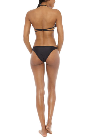 CHROMAT Cut Out Bottom Bikini Bottom | Black| Chromat Cut-out Bikini Bottom