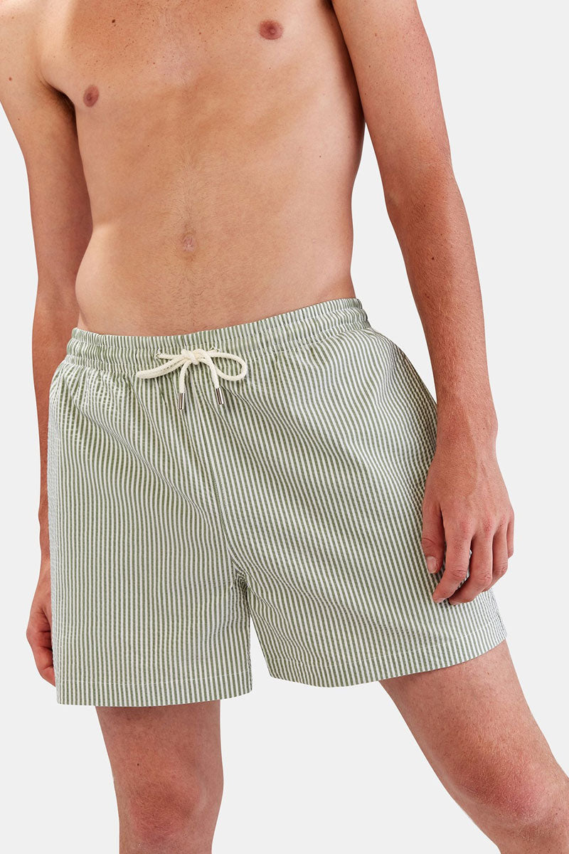 ad386c9f8516ce ... SOLID & STRIPED MEN The Classic Drawstring Swim Trunks (Men's) - Green  - undefined