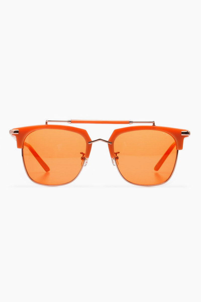 Cocktails & Dreams Sunglasses - Coral/Orange Lenses