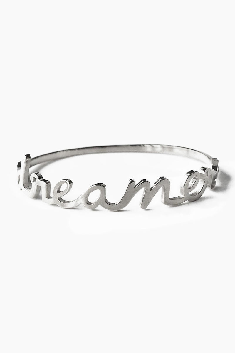 Dreamer Bangle - Silver