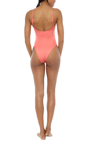 EMMA FORD Elle One Piece One Piece | Coral Blush| Emma Ford Elle One Piece