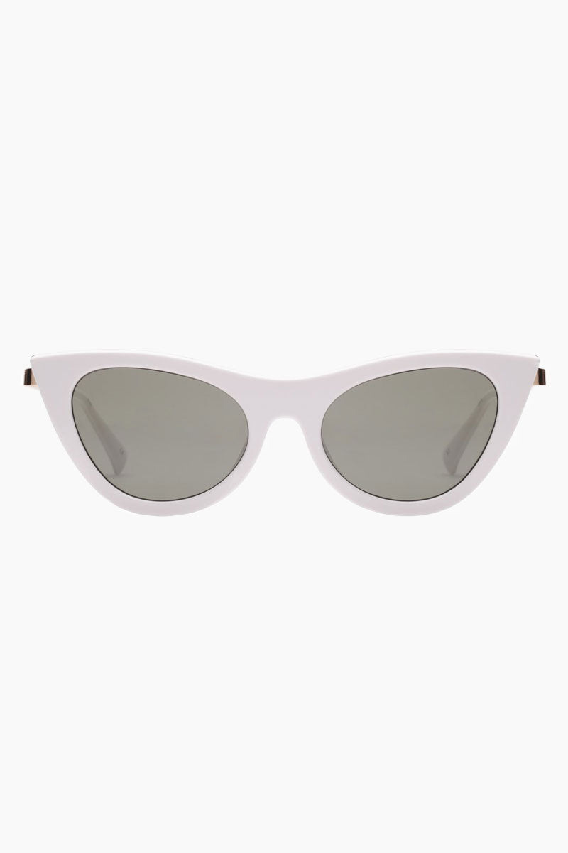 Enchantress Sunglasses - White/Khaki