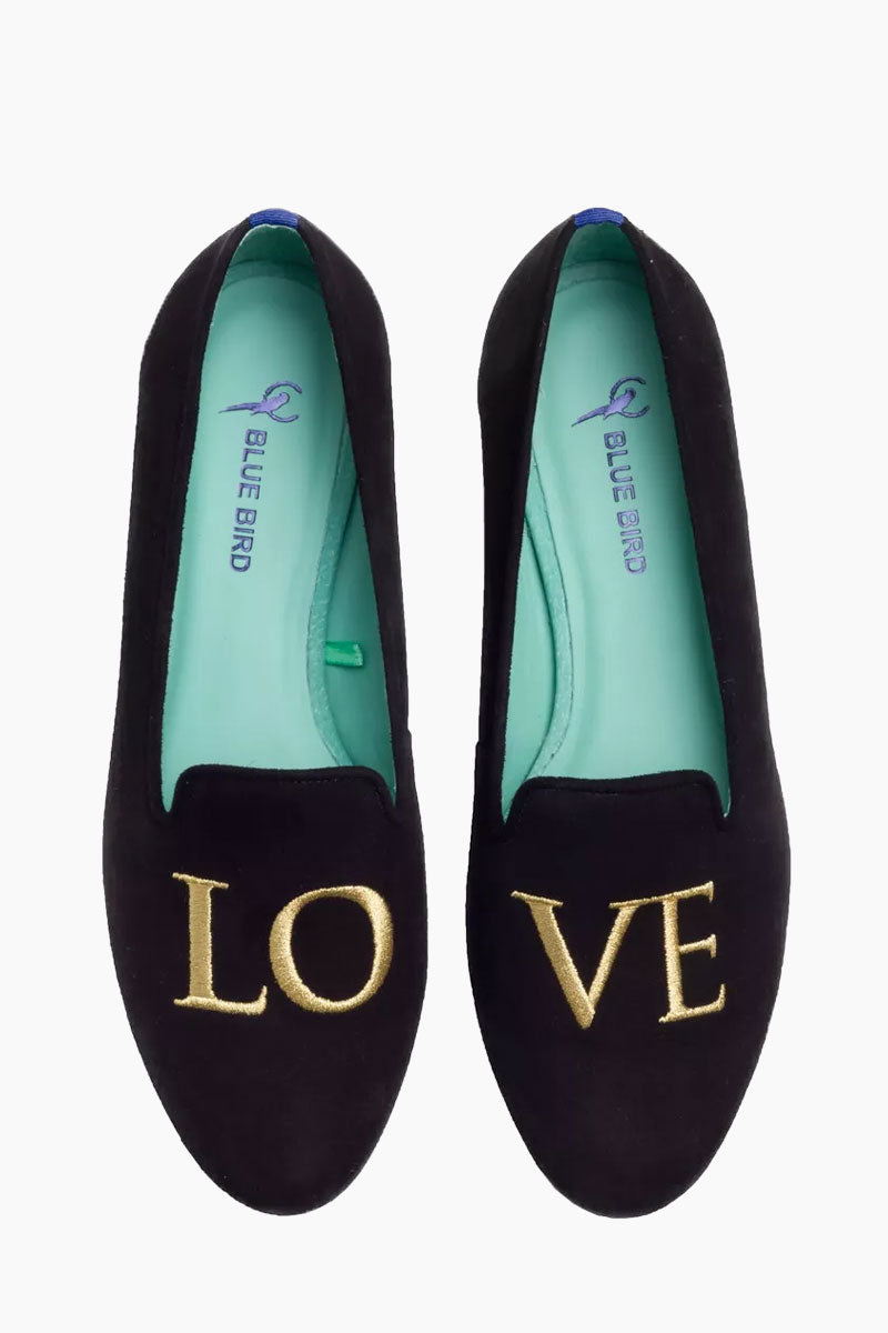 Golden Love Loafer - Black